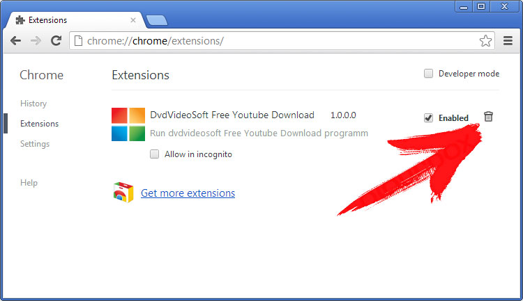 extensions-chrome Gotrack2.es
